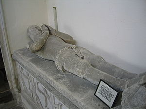 John de Wingfield - Image: The Tomb of Sir John de Wingfield
