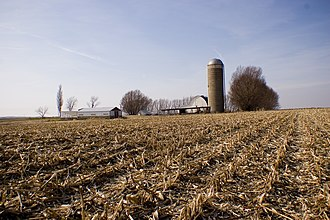 Delaware County, Iowa - A farm near Hopkinton