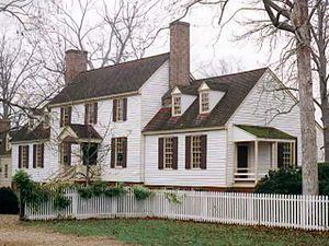 St. George Tucker House - Image: The Tucker House Williamsburg