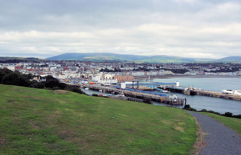 Douglas Head is a rocky point on the Isle of Man overlooking Douglas Bay and harbour. Views extend to include Snaefell Mountain and Laxey.
