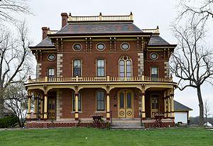 John K. Voorhees House - Image: The Voorhees House