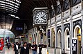 The clock on Platform 1 - geograph.org.uk - 2188552.jpg
