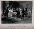 The dying Sir Wycherly Wychecombe dictates his will. Engravi Wellcome V0042271.jpg