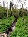 The stream under the Axmansford Bridge - geograph.org.uk - 4770.jpg