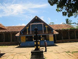 Thirunelly village in Kerala, India