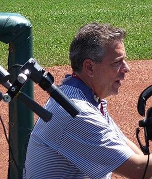 Thom Brennaman - Brennaman in 2011.