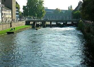 Canal du Faux-Rempart - Image: Thomas Bresson pont de l'abattoir