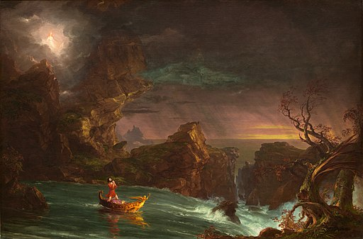 Thomas Cole - The Voyage of Life Manhood, 1842 (National Gallery of Art)