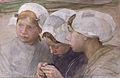 Three girls from Scheveningen by Pieter de Josselin de Jong (1861-1906).jpg