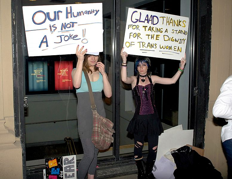 File:Ticked Off Trannies protesters Shankbone 2010.jpg