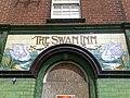 Tiled Sign of The Swan Inn - geograph.org.uk - 1319285.jpg
