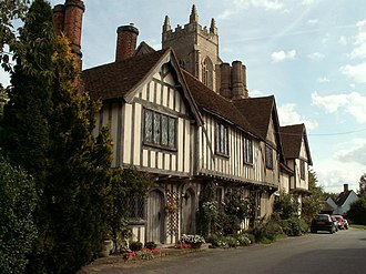 Stoke-by-Nayland - Image: Timber framed house at Stoke by Nayland, Suffolk geograph.org.uk 230049