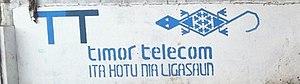 Telecommunications in East Timor - Timor Telecom advertisement