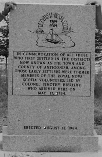 Timothy Hierlihy - Timothy Hierlihy Monument, Antigonish, Nova Scotia