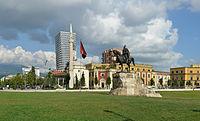 Tirana - Skanderbeg Square (Sheshi Skënderbej) - by Pudelek.jpg