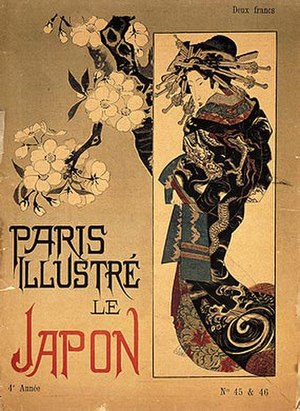Tadamasa Hayashi - Image: Title page Paris Illustre Le Japon vol 4 May 1886