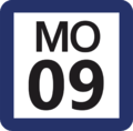 Tokyo Monorail MO-09 station number.png