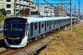Tokyu 2020 series Den-en-toshi Line test run 20171228.jpg