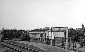 Kelvedon and Tollesbury Light Railway - Tolleshunt Knights Halt, 1950