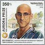 Tom Catena 2018 stamp of Armenia 3.jpg