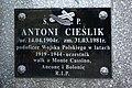 Tomb of Antoni and Bronisława Cieślik at Central Cemetery in Sanok 4.jpg