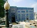 Tomb of Shah Yousuf Gardezi With Light Pole and Ayat Kareema.jpg