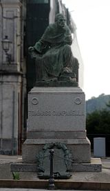 Monumento a Tommaso Campanella en Stilo