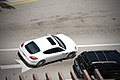 Top view on a white Porsche 970 Panamera in Miami.jpg