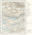 Topographic map of Norway, D33 aust Hallingskarvet, 1960.jpg