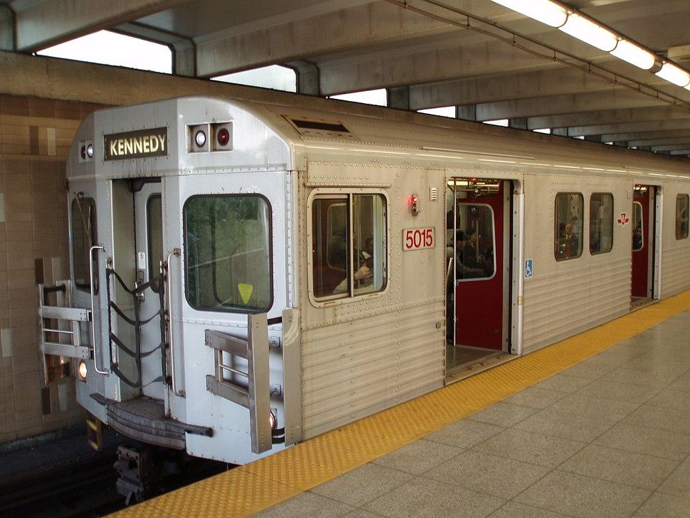 Toronto Subway Train4