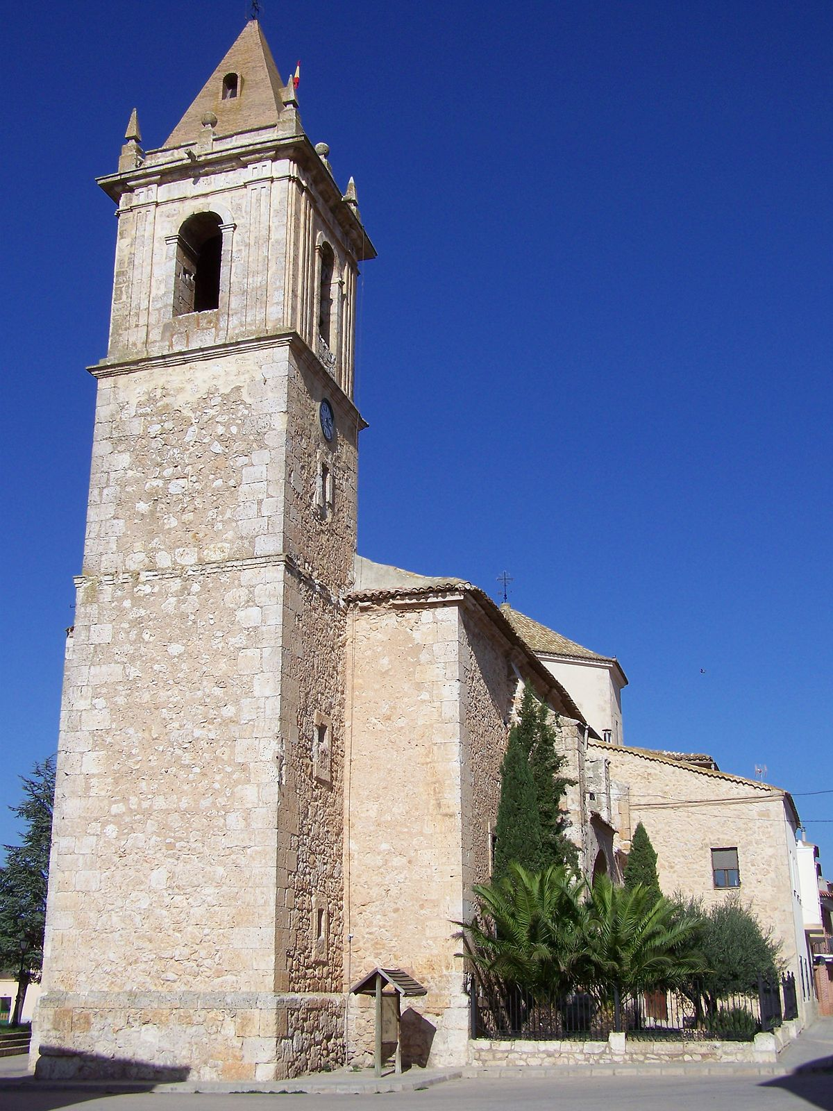 Iglesia de Santa Quiteria (Casas de Ves) - Wikipedia, la