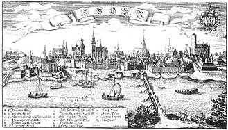 History of Toruń - Thorn in Christoph Hartknoch's Old and New Prussia (1684)