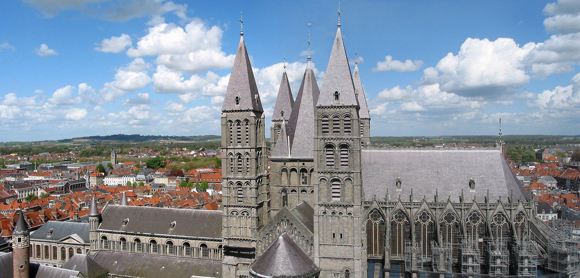 Notre-Dame de Tournai, Belgium