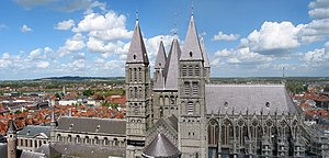 Roman Catholic Diocese of Tournai - Tournai Cathedral.