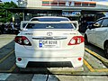 Toyota Corolla Altis (E140) 1.6 TRD Sportivo Series-I Rear.jpg