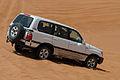 Toyota Land Cruiser in the Desert Side-Back View 20120409 1.jpg