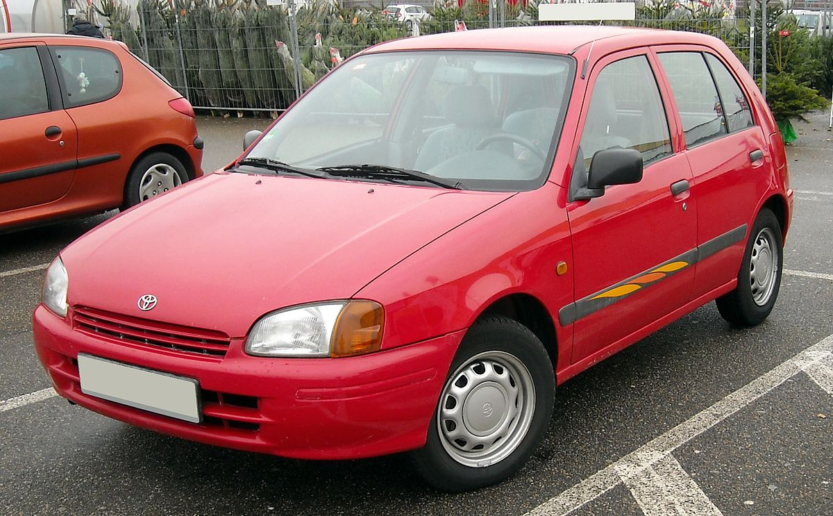 Px Toyota Starlet Front on 1999 Toyota Tercel