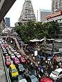Traffic near Chong Nonsi BTS station 2018.jpg