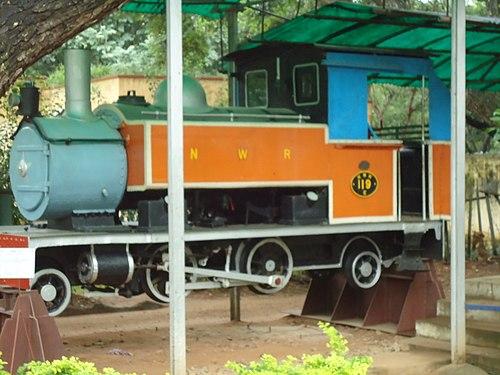 Train Engine Mysore Rail Museum.JPG
