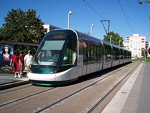 Strasbourg tramway - Alstom Citadis 403