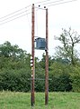 Transformer east of Oxford Canal near Cropredy - geograph.org.uk - 1431442.jpg
