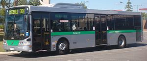 Vehicle - Buses are a common form of vehicles used for public transport.