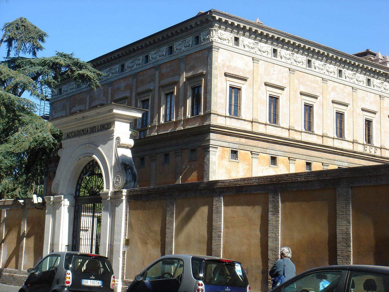 https://upload.wikimedia.org/wikipedia/commons/thumb/0/03/Trastevere_-_Accademia_dei_Lincei_alla_Lungara_01593.JPG/1280px-Trastevere_-_Accademia_dei_Lincei_alla_Lungara_01593.JPG
