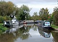 Trent and Mersey Canal at Willington, Derbyshire - geograph.org.uk - 1587588.jpg