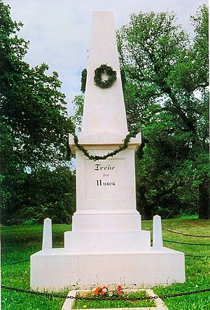 Comfort, Texas - Treue der Union monument in Comfort