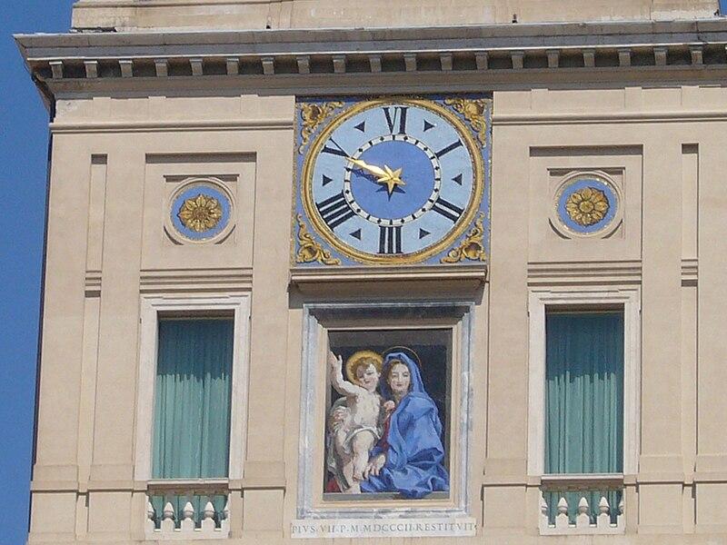 Trevi - Quirinale interno orologio 1020791.JPG