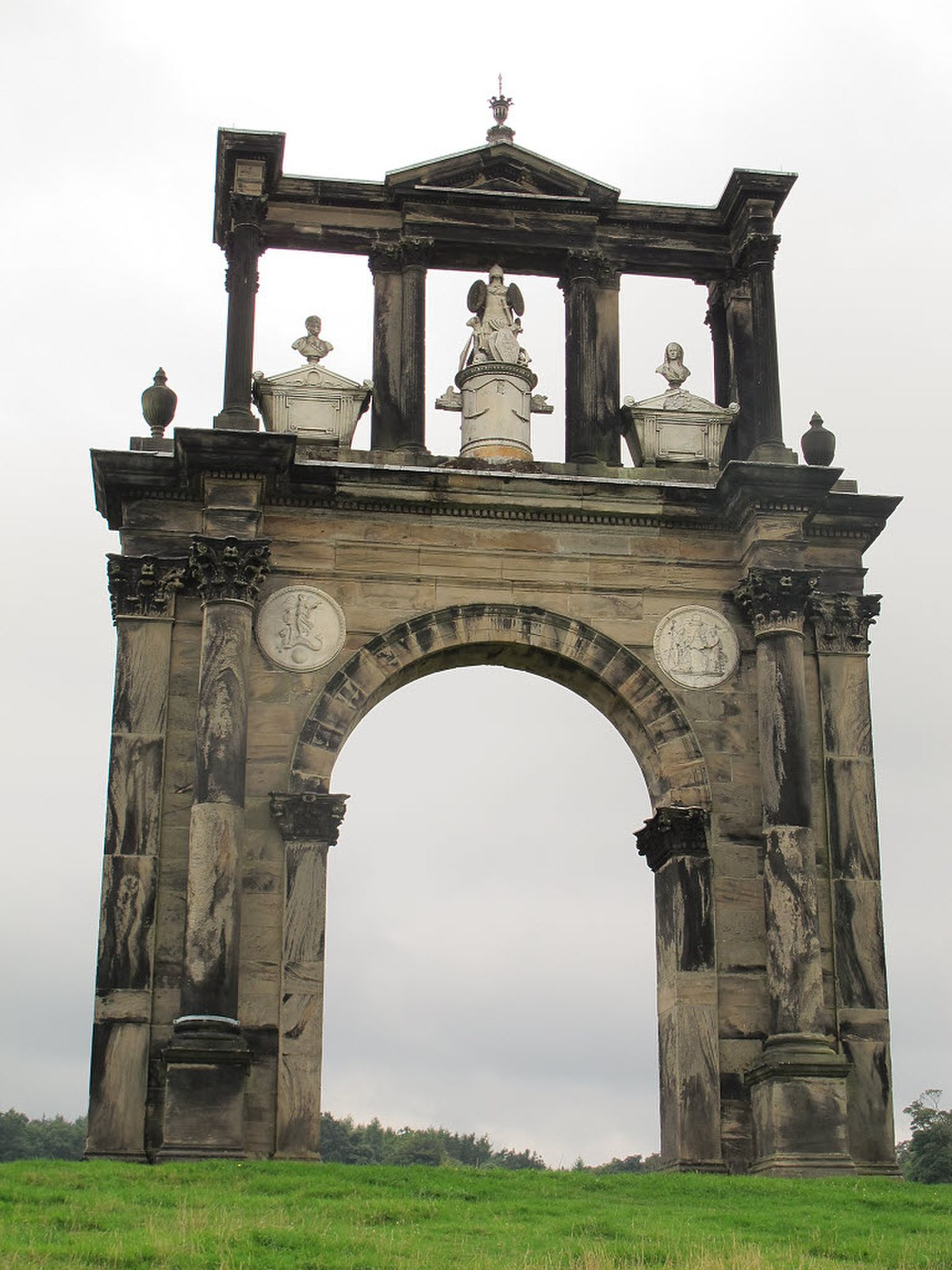 Triumphal Arch at Shugborough (geograph 3625020).jpg
