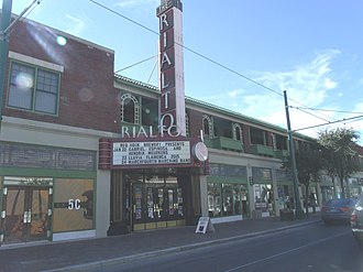 Rialto Theatre (Tucson, Arizona) - The Rialto Theater, and Rialto Building commercial block.