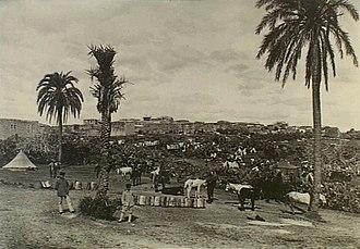 Battle of Tulkarm - German photograph of Tulkarm in 1915
