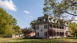 The Tulpehocken Manor Plantation, a historic site in the township